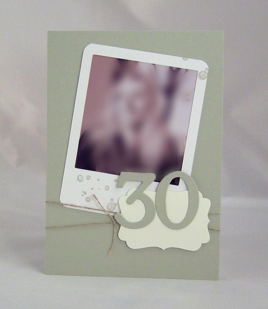 Einladungskarte_30._Geburtstag_sw
