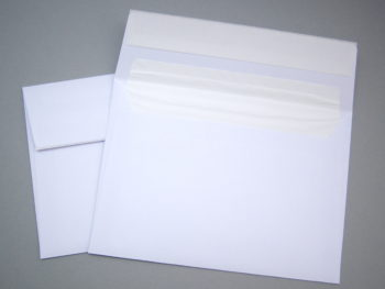 Briefumschlag - mit Klebestreifen