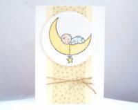 Babykarte Baby Mond 1