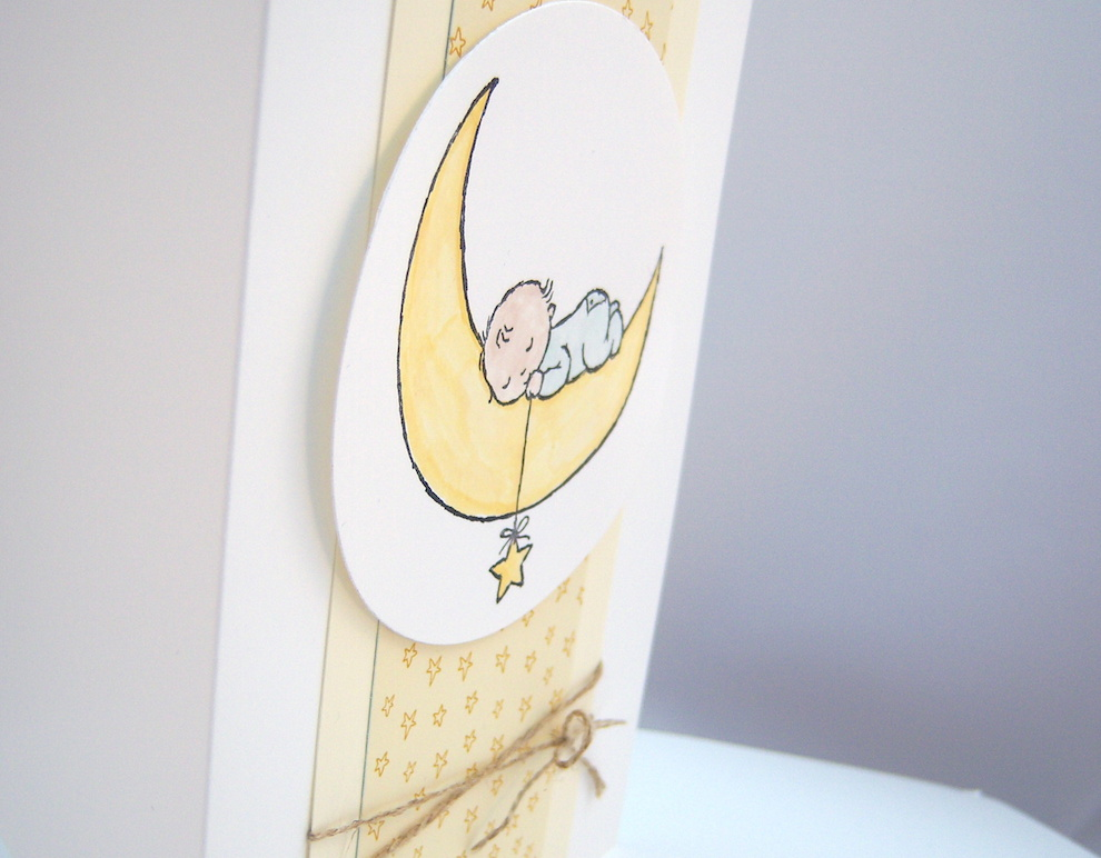 Babykarte Baby Mond 2