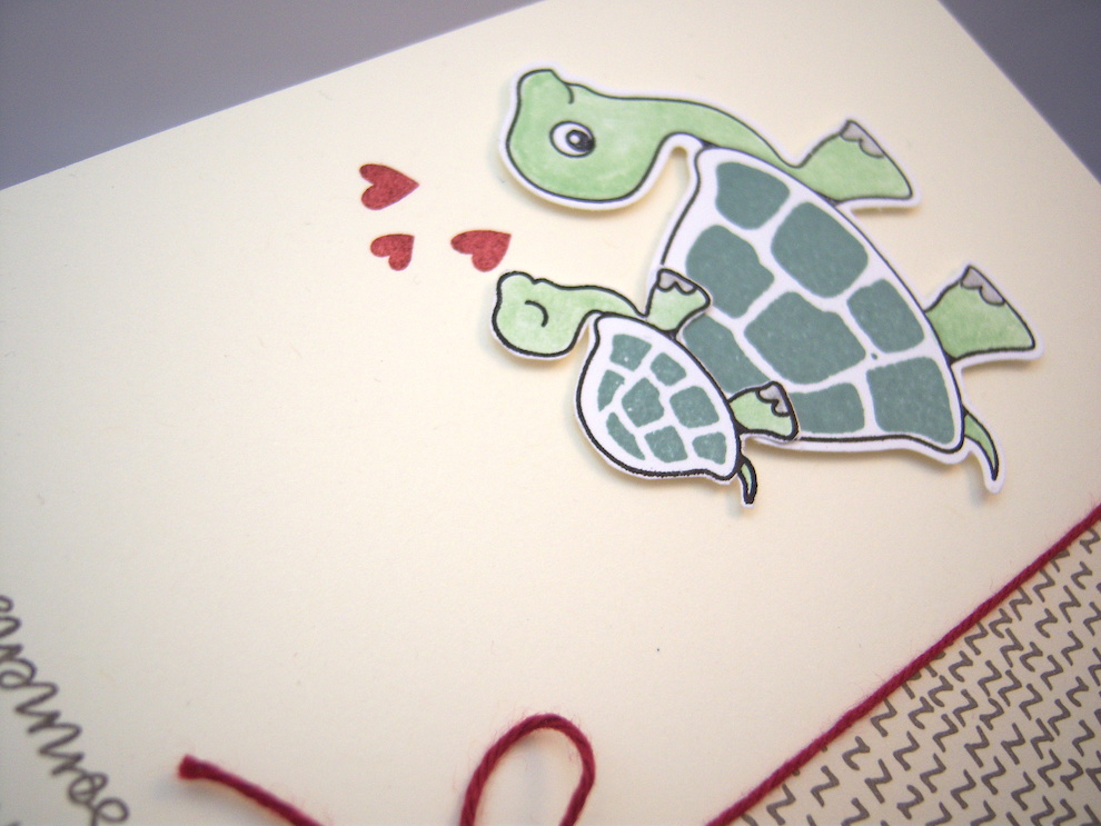 Babykarte Schildkröte Bild 4