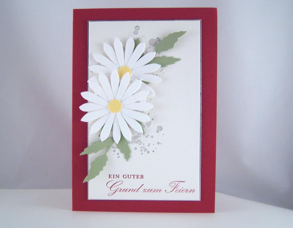 Einladung - Einladung Blumen Bild 1