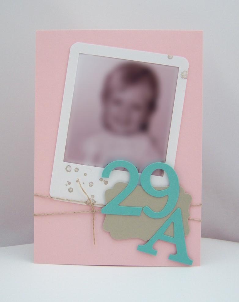 Einladung - Einladungskarte 30. Geburtstag Zartrosa Jade Bild 1