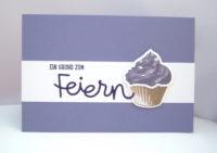 Geburtstagskarte -Cupcake- Bild 1