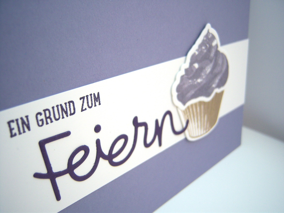 Geburtstagskarte -Cupcake- Bild 2