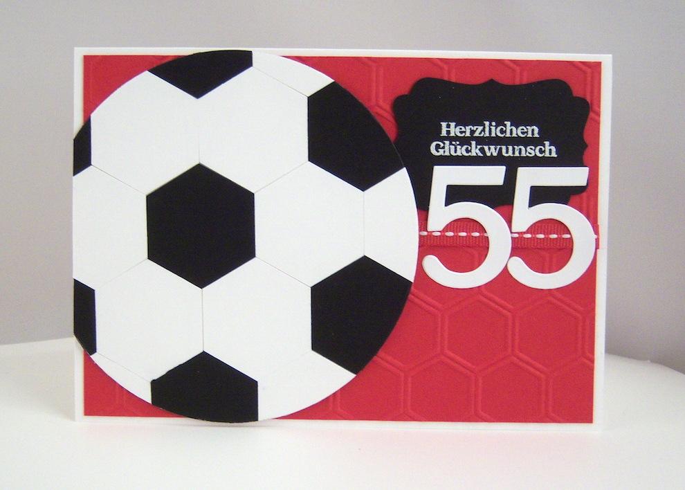 Geburtstag - Geburtstagskarte -Fussball- Bild 1