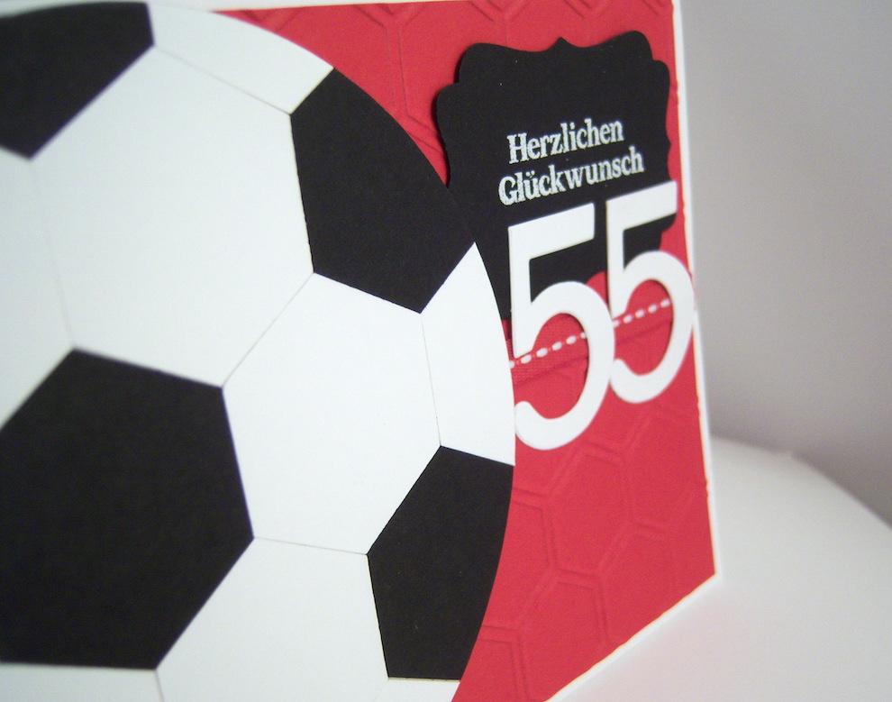 Geburtstagskarte -Fussball- Bild 2