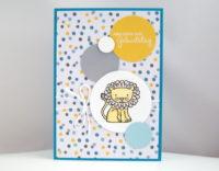 Geburtstagskarte -Löwe- Bild 1