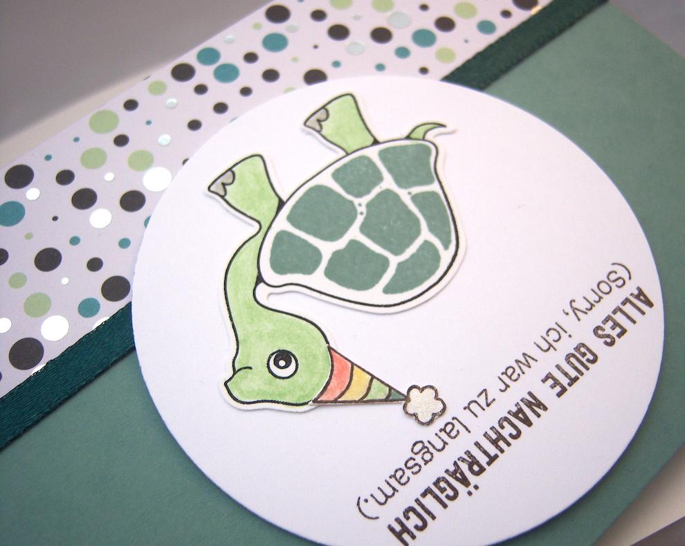 Geburtstagskarte Schildkröte Bild 2