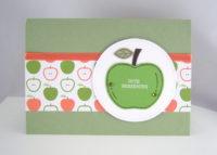 Genesungskarte Apfel Bild 1