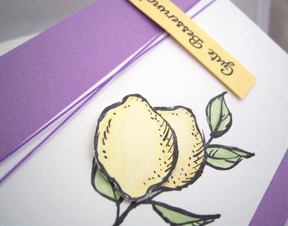 Genesungskarte Zitronen Bild 2