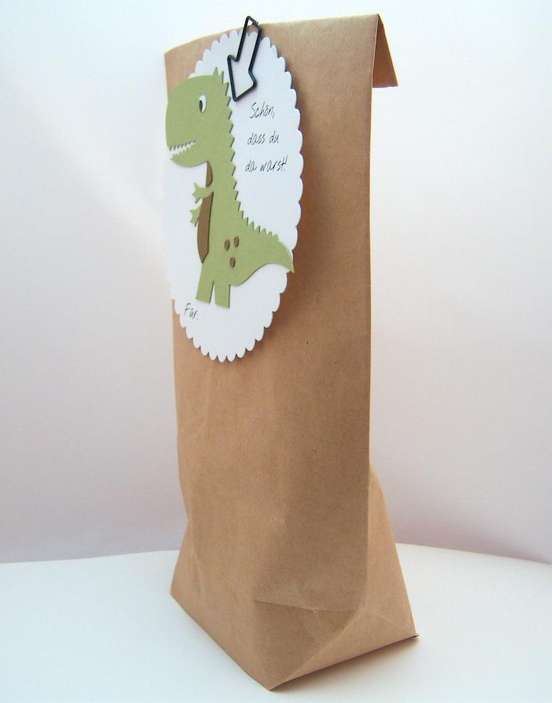 Geschenktüte -Dino- Bild 2