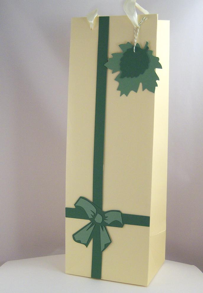 Verpackungen - Geschenktasche Schleife