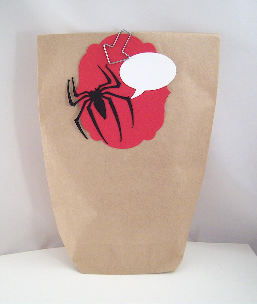 Geschenktüte Spinne Bild 2