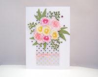 Grußkarte Blumenstrauß Bild 1