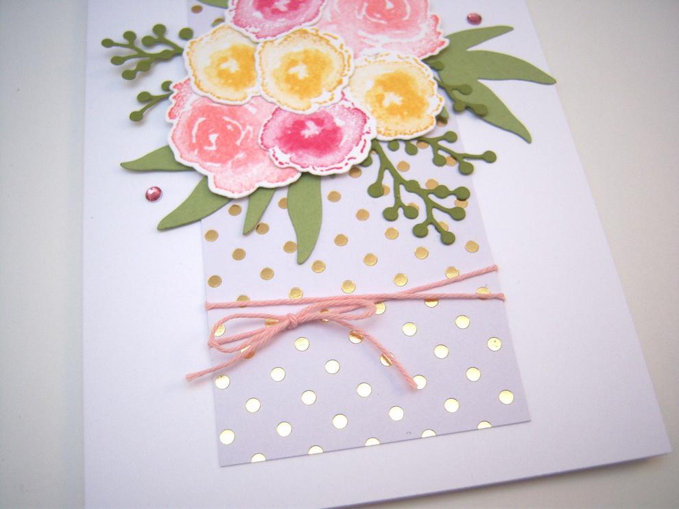 Grußkarte Blumenstrauß Bild 4