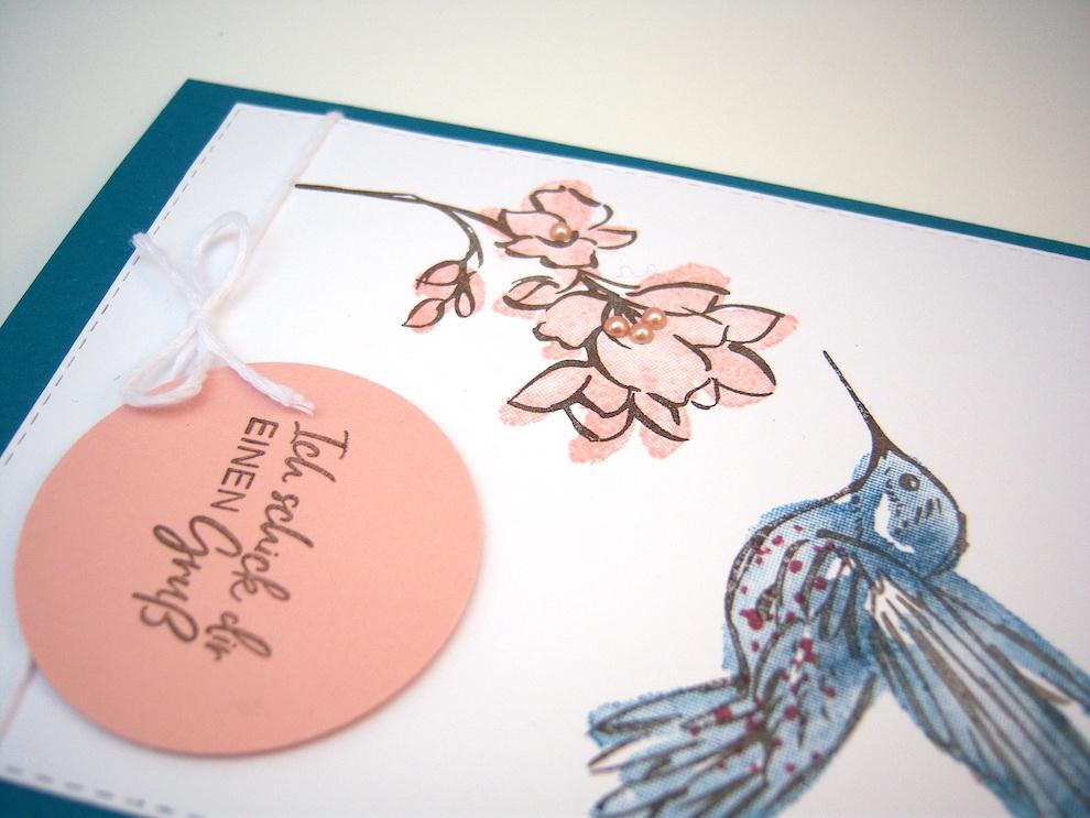 Grußkarte Kolibri Bild 2