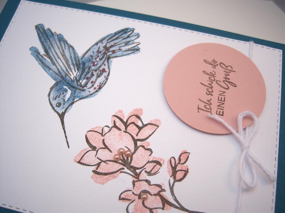 Grußkarte Kolibri Bild 3