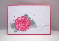 Grußkarte Rose Bild 1