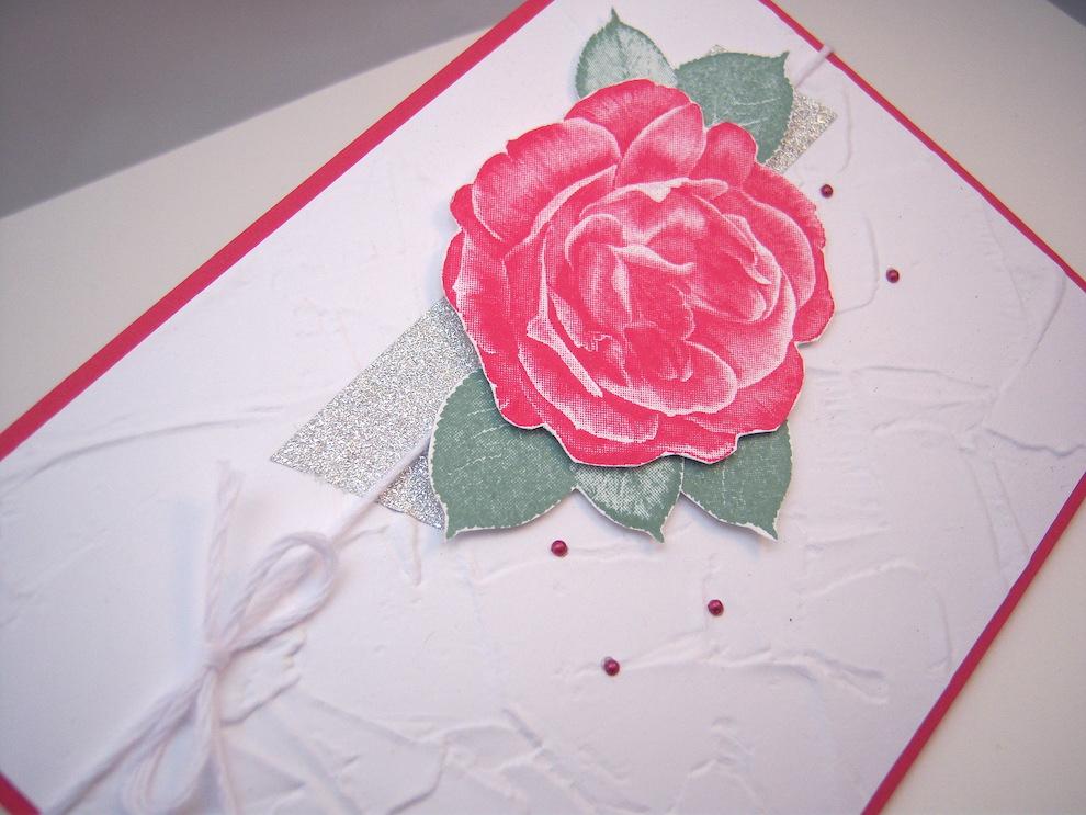 Grußkarte Rose Bild 2