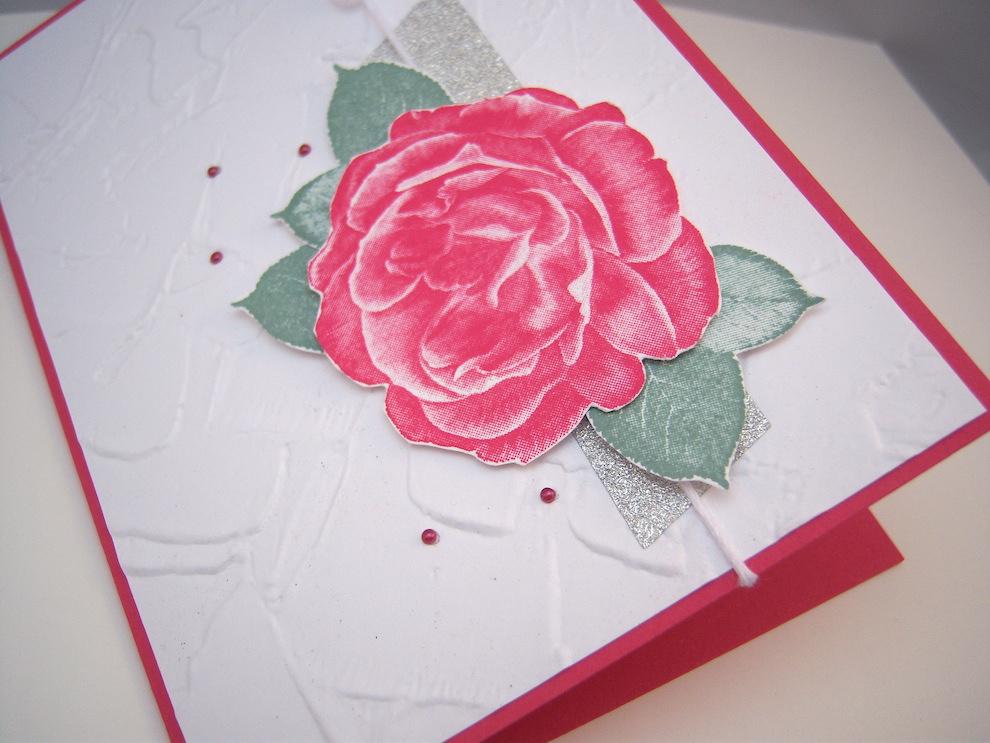 Grußkarte Rose Bild 3
