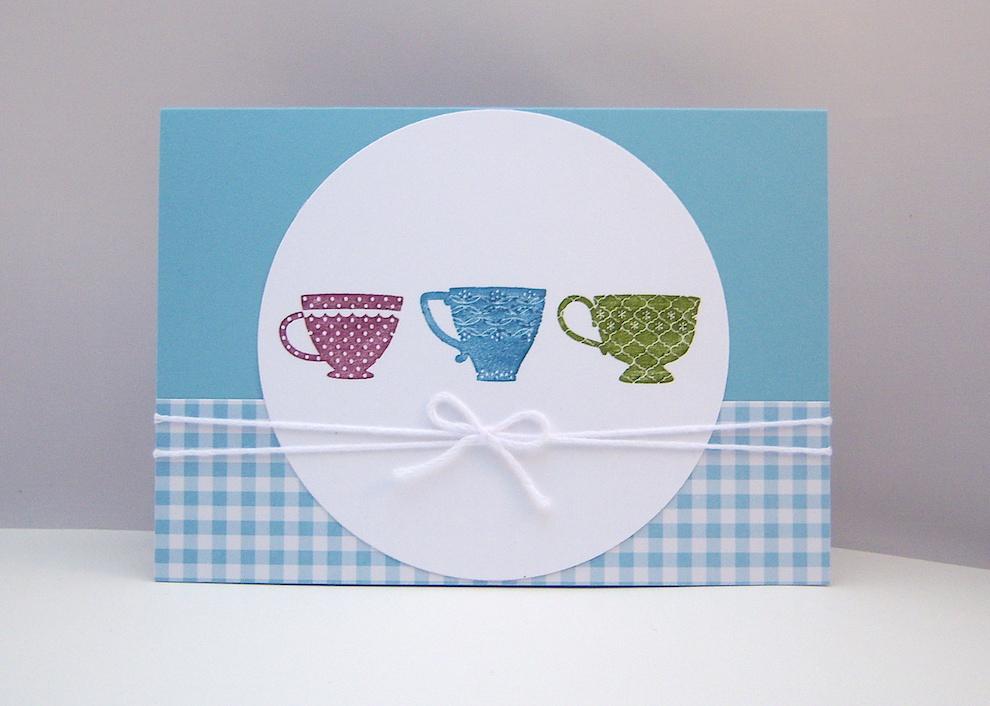 Sonstiges - Grußkarte Tassen Bild 1