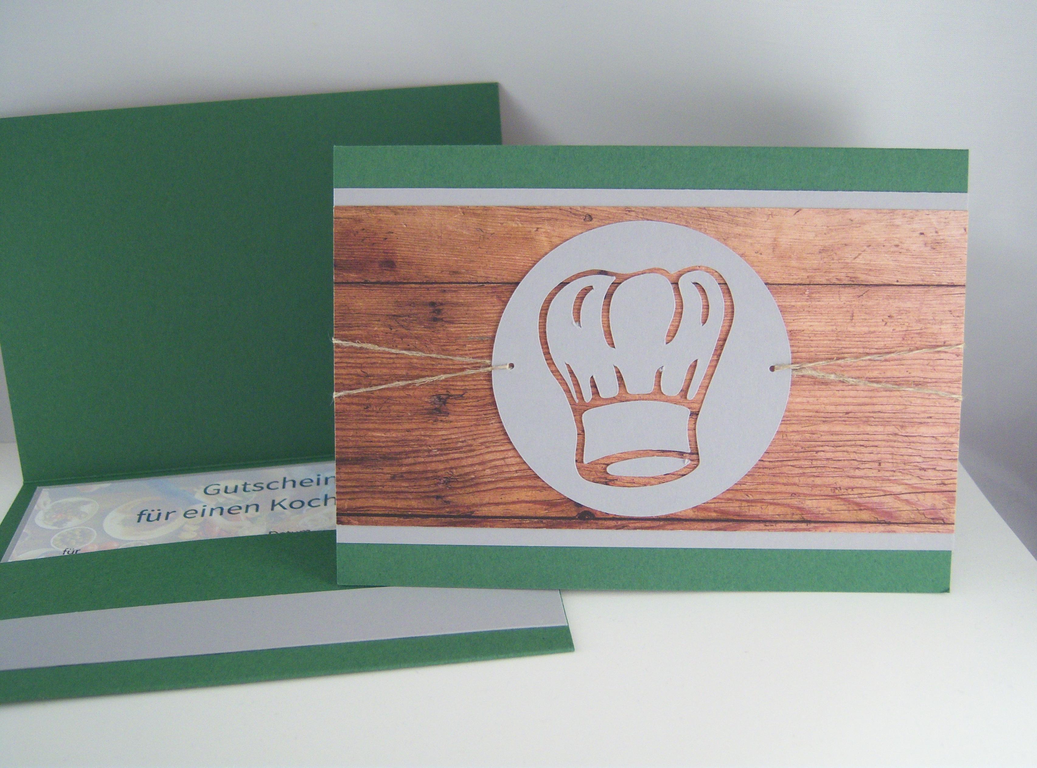 Sonstiges - Gutschein Kochmütze Bild 1
