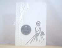 Hochzeitskarte -Für die Braut- Bild 1
