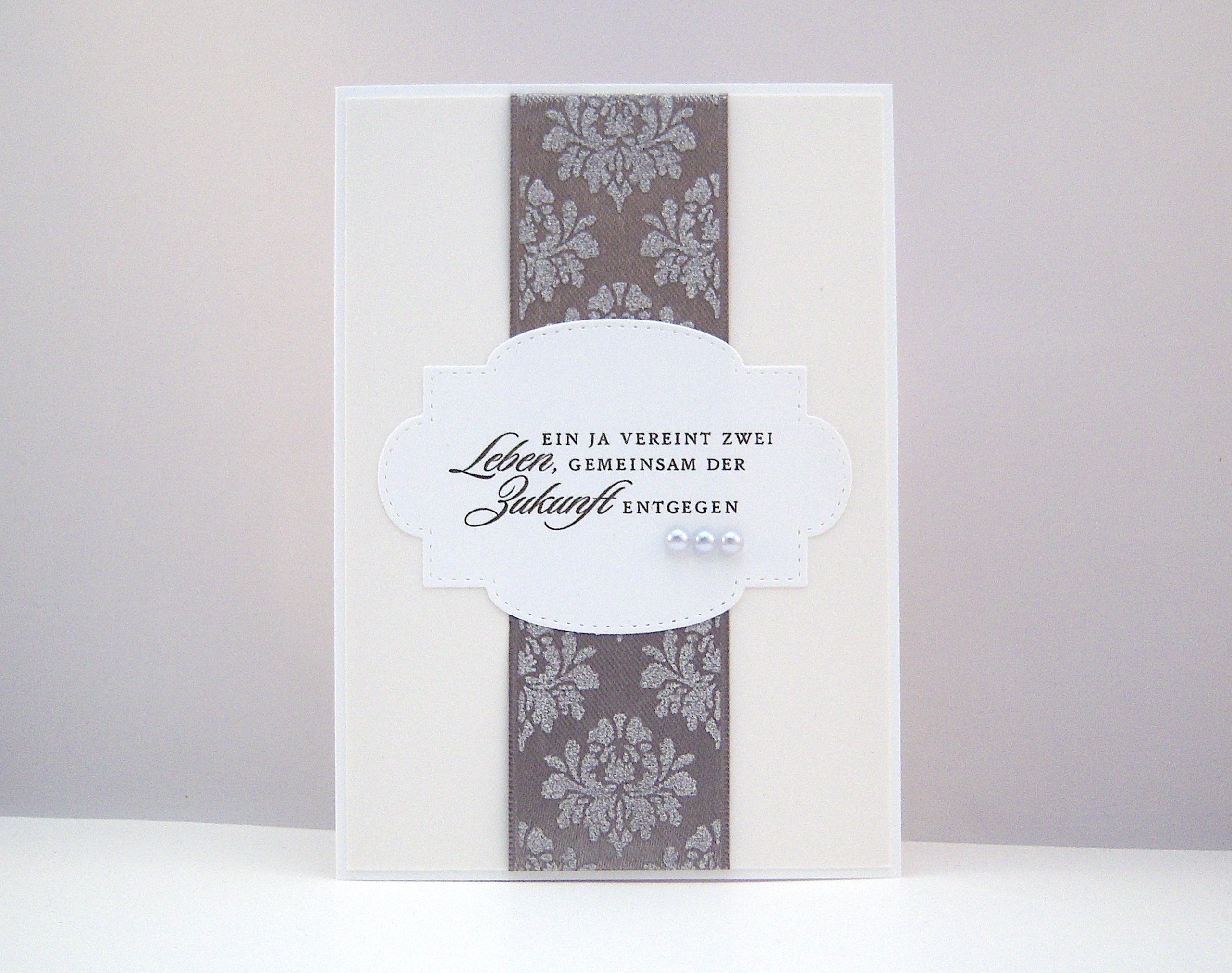 Hochzeit - Hochzeitskarte Gemeinsam in die Zukunft Bild 1