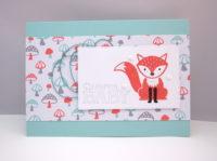 Babykarte Fuchs Bild 1
