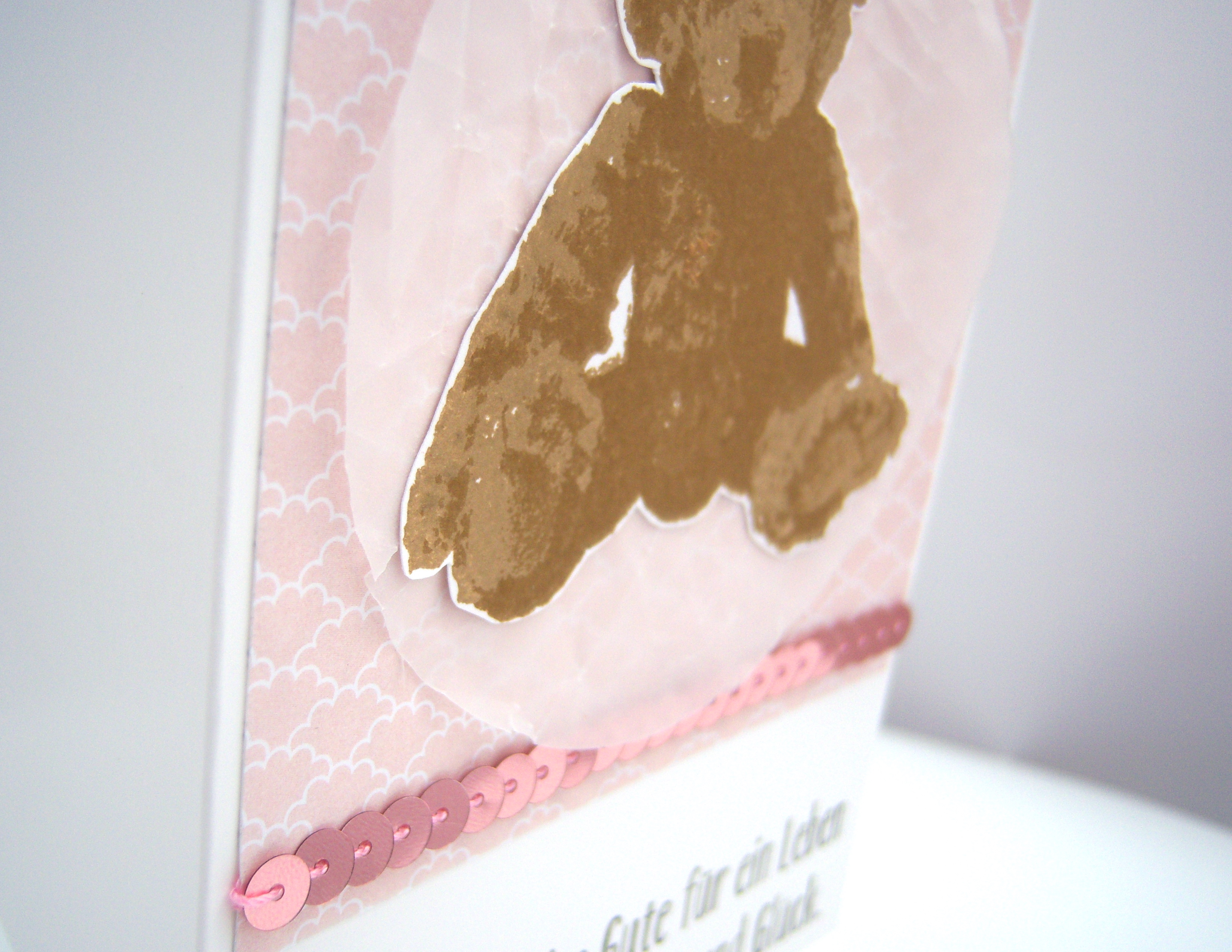 Karte zur Geburt Teddy 2