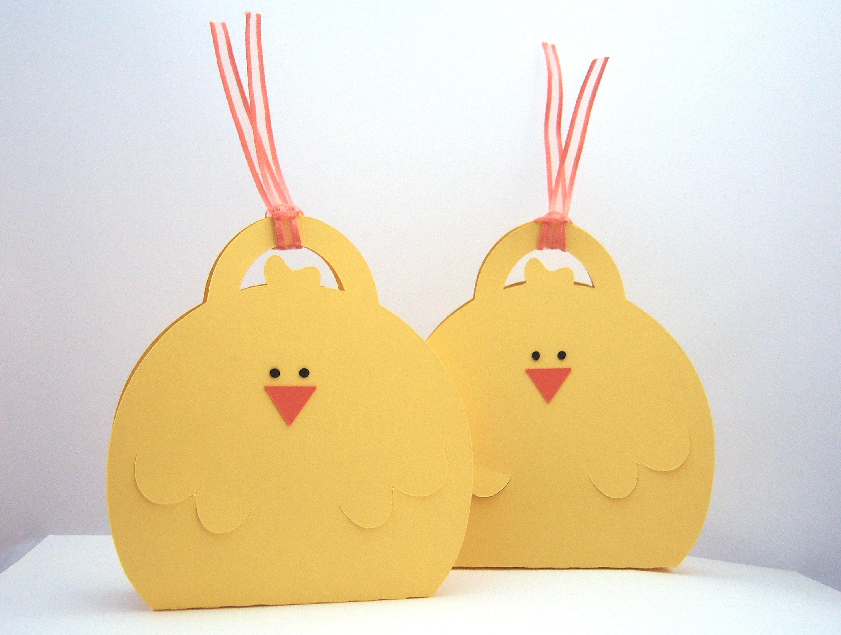 Ostern, Verpackungen - Kücken Verpackung Bild 1