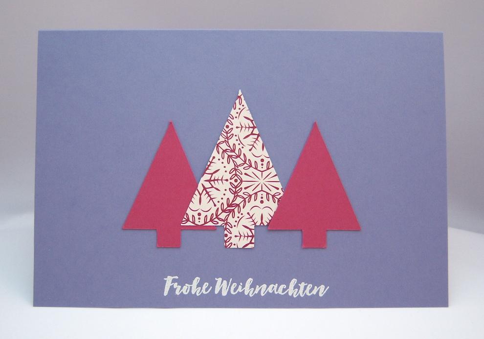 Pop-up Weihnachtskarte Rentier 2