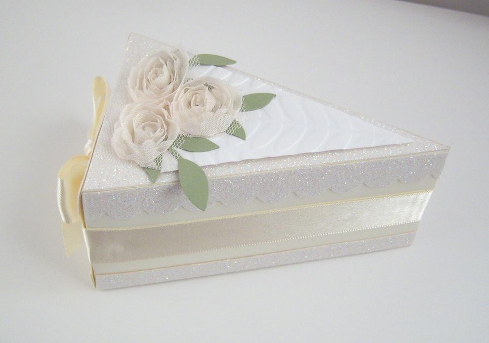 Tortenstück Diamantene Hochzeit Bild 2