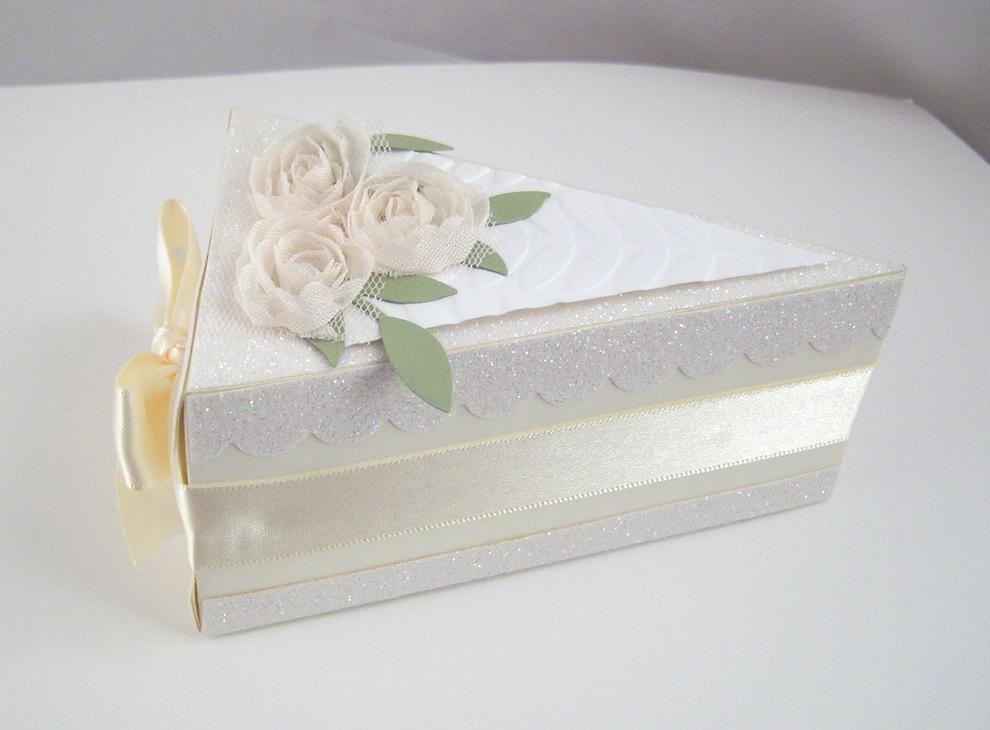 Tortenstück Diamantene Hochzeit Bild 3