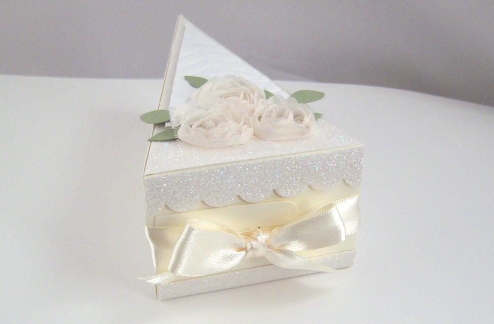 Tortenstück Diamantene Hochzeit Bild 4