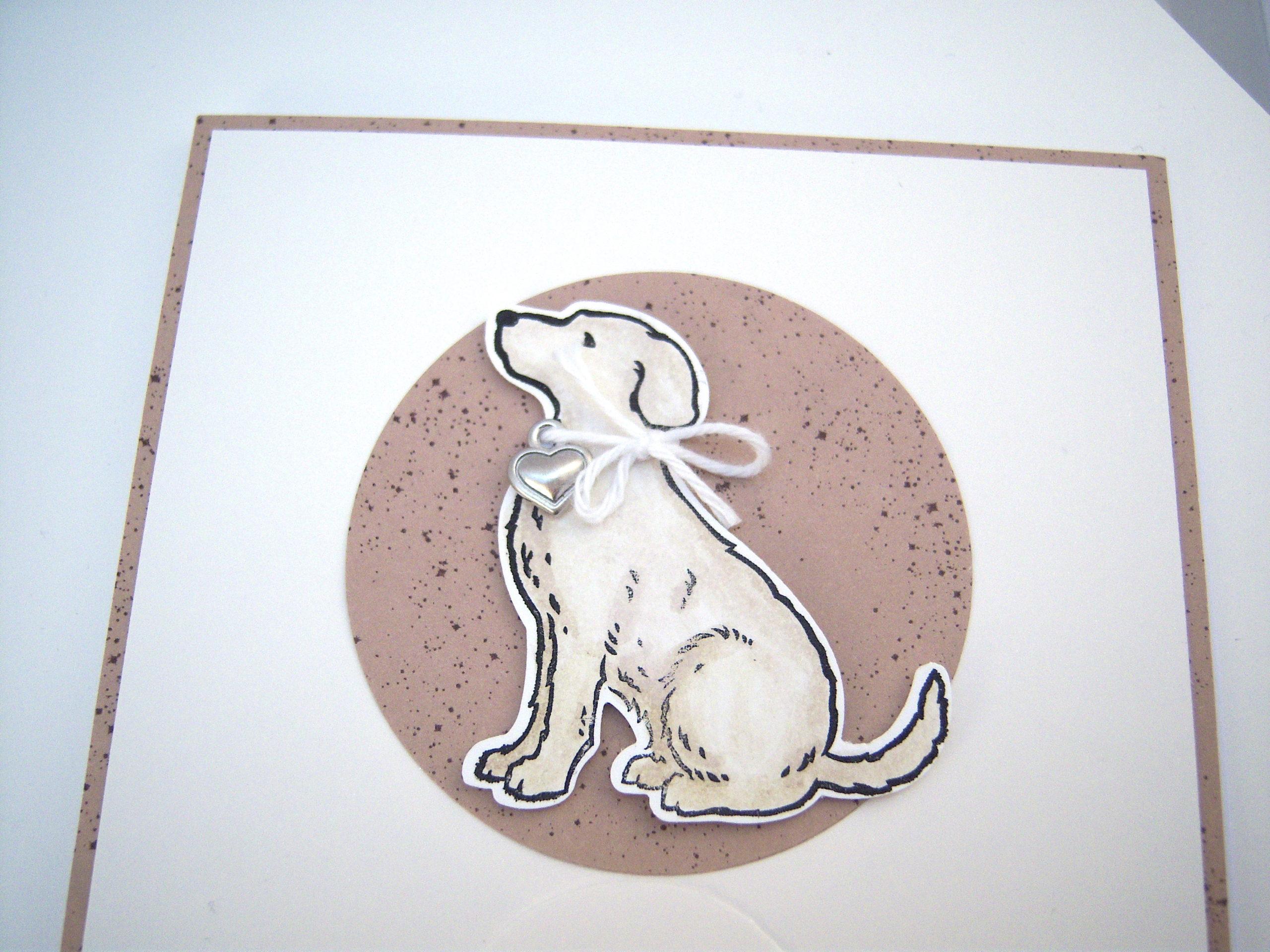 Trauerkarte Hund Bild 2