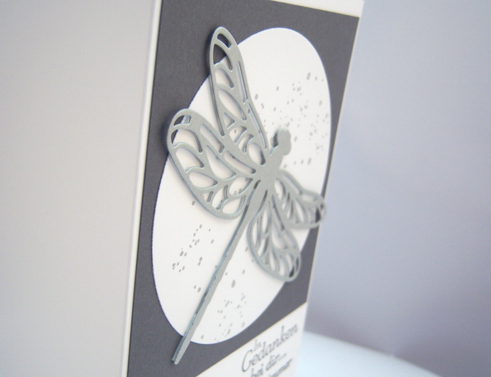 Trauerkarte Libelle 2