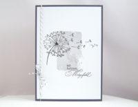 Trauerkarte -Pusteblume- Bild 1