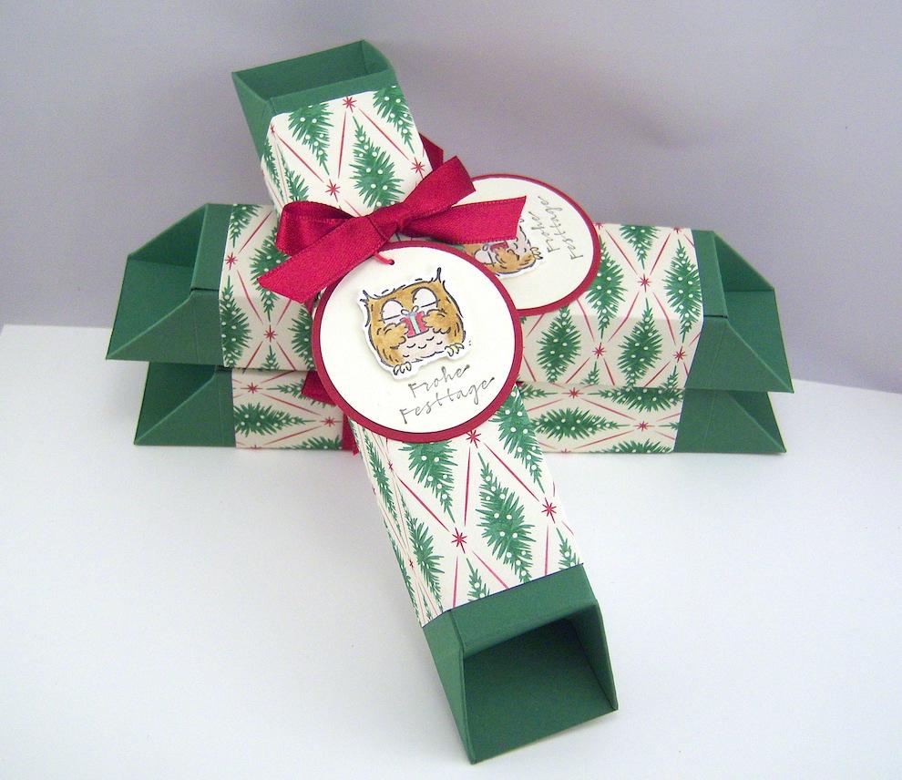 Weihnachten, Verpackungen - Verpackung Eule Bild 1
