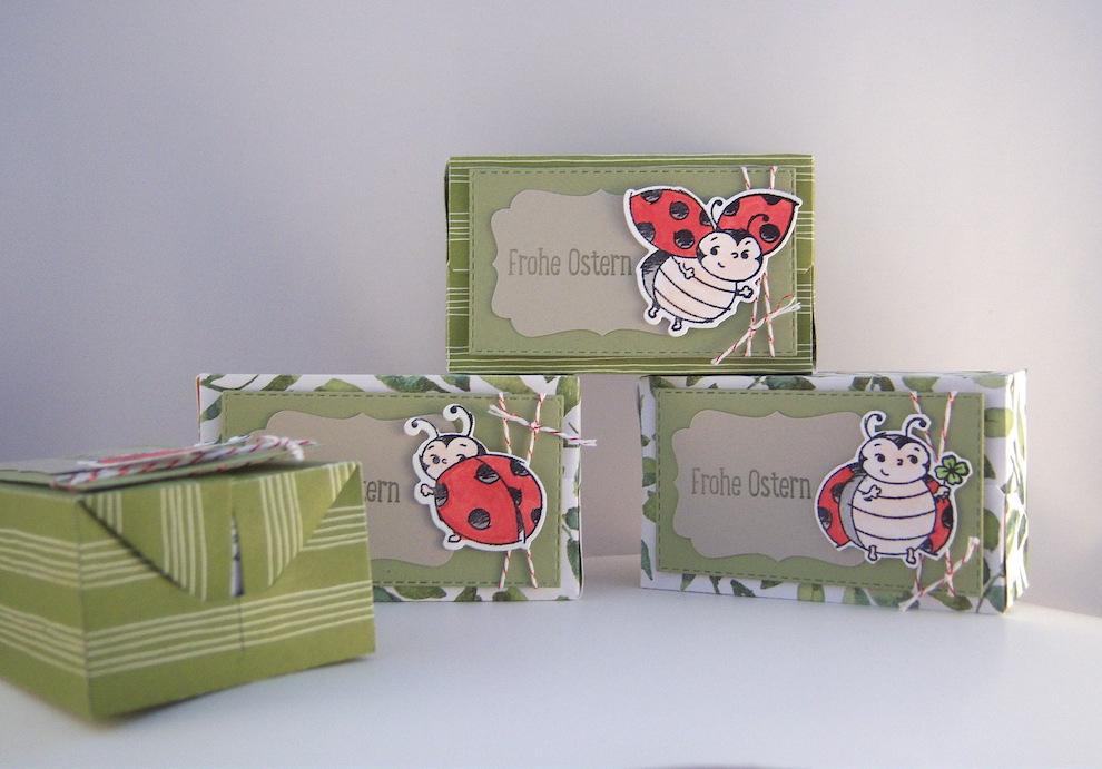 Ostern, Verpackungen - Verpackung Ostern Marienkäfer