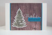 Weihnachtskarte Tannenbaum Bild 1