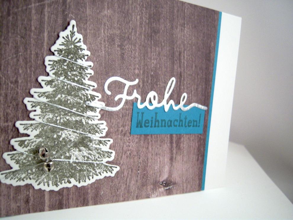 Weihnachtskarte Tannenbaum Bild 2