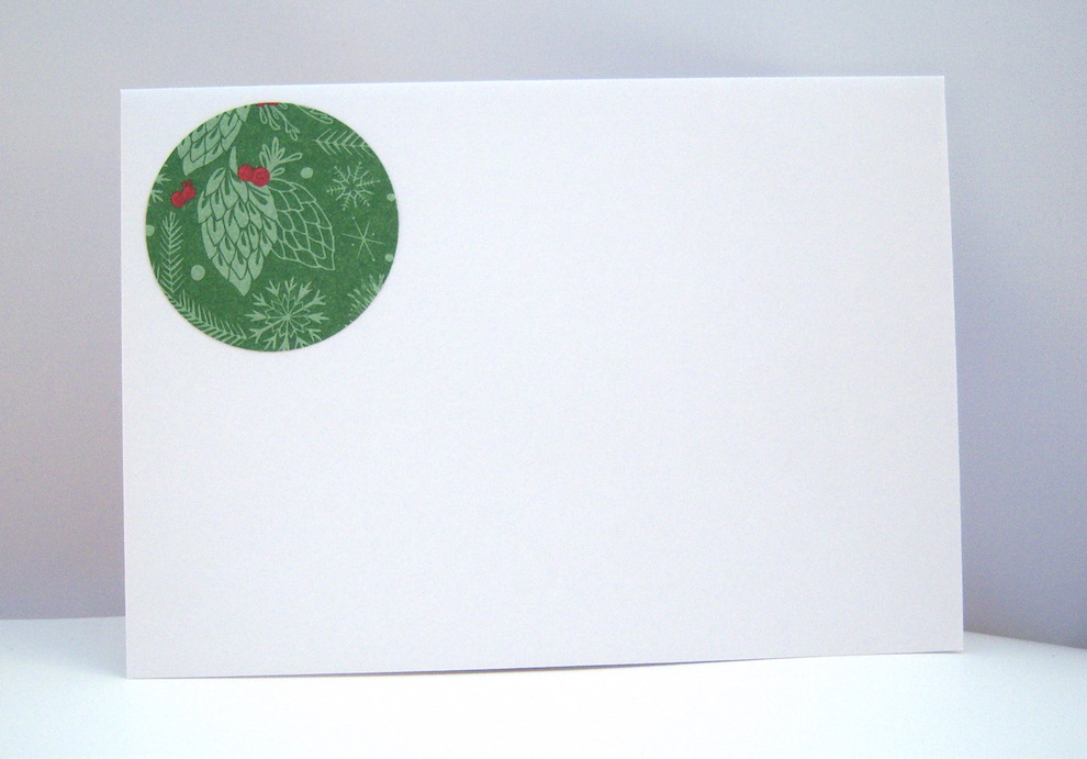 Weihnachtskarte -Tannenzapfen- Bild 3