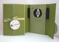 Weihnachtskarte -Wenn das Herz nach Hause kommt- Bild 1