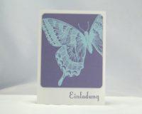Einladung Schmetterling 1