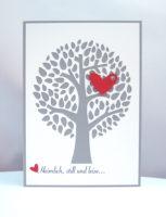 Einladungskarte Hochzeit -Lebensbaum-