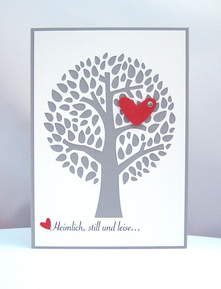 Einladung - Einladungskarte Hochzeit -Lebensbaum-