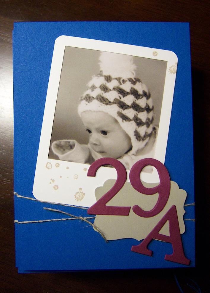 Geburtstagskarte 29A Foto