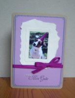 Geburtstagskarte Bilderrahmen Foto